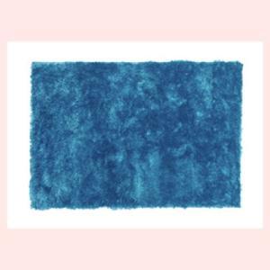 シャギーラグ(130×90cm)RG-22BL/ブルー|sshana