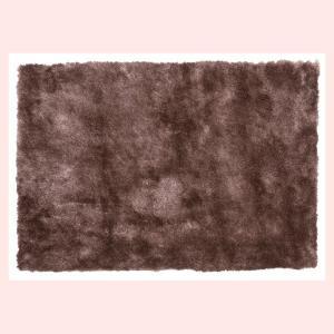 シャギーラグ(130×90cm)RG-22BR/ブラウン|sshana