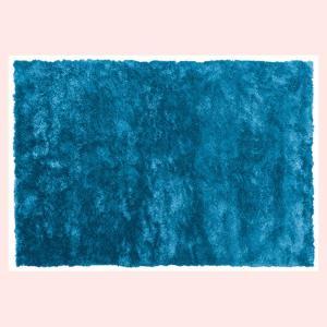 シャギーラグ(190×130cm)RG-23BL/ブルー|sshana