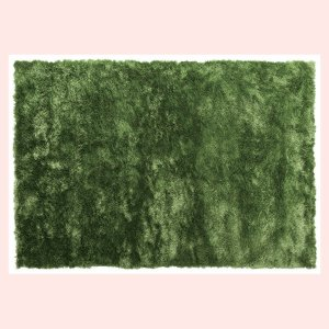 シャギーラグ(190×130cm)RG-23GR/グリーン|sshana