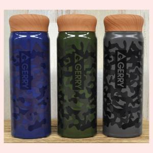 GERRY軽量ステンレスボトル(迷彩)/3種類|sshana