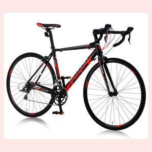 CANOVER CAR-011 ZENOS ロードバイク レッド/ブラック 25576