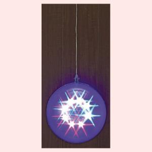 8パターンスターボールライト(20cm)|sshana