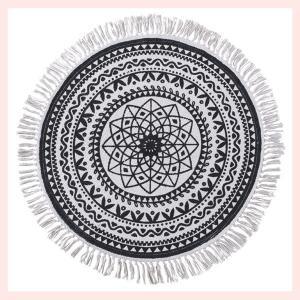 円形ラグ(130×130cm)/TTR-135|sshana