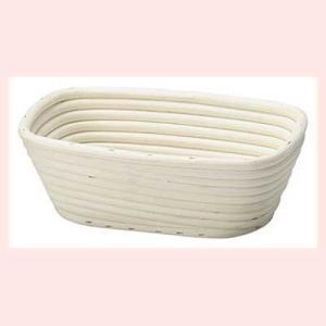 『ラタン』パン用の発酵ねかしかご四角タイプケース「22×14.5×7.5cm」|sshana
