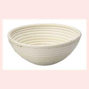 『ラタン』パン用の発酵ねかしかご丸タイプケース「21×8.5cm」|sshana