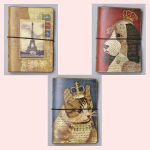 アンティーク調絵柄のカードホルダー/3種類|sshana