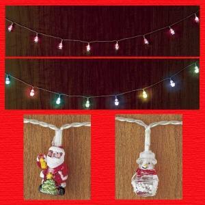 『クリスマス』LEDライトキャラクターガーランド/2種類|sshana