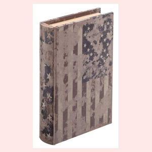アンティーク調な木製ブック型小物入れ(A)|sshana