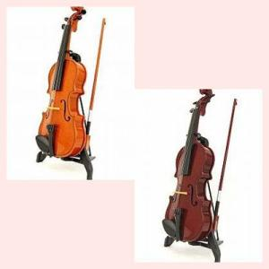 自動演奏のヴァイオリンオブジェ/2種類|sshana