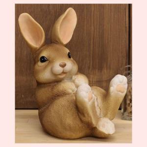 レジン製ウサギの置物(S)|sshana