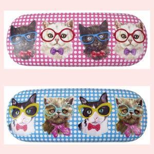 キュートな猫柄の眼鏡ケース/2種類|sshana