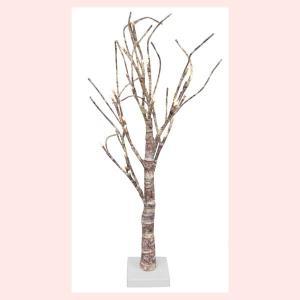 インテリアに美しいナチュラルなLEDライトツリー(63cm)|sshana