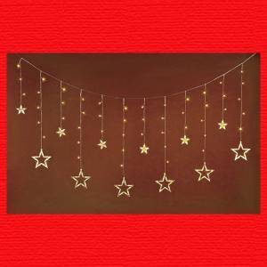 『クリスマス』LEDアイシクルスターイルミネーション(リモコン付)|sshana