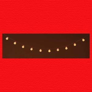 『クリスマス』LEDライトガーランド(スノーマン)|sshana