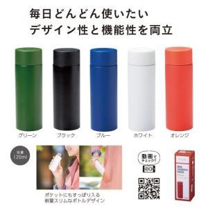 ミニステンレスボトル120ml 33777 【包装・熨斗不可】【色指定不可】|sskgift