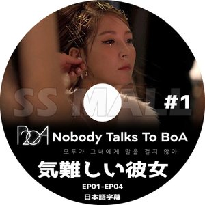 K-POP DVD BoA 気難しい彼女 #1 EP01-EP04 日本語字幕あり BOA ボア KPOP DVD|ssmall
