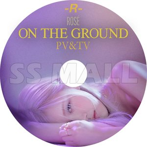 K-POP DVD Black Pink ROSE PV&TV セレクト On The Ground ブラックピンク ロゼ KPOP DVD|ssmall