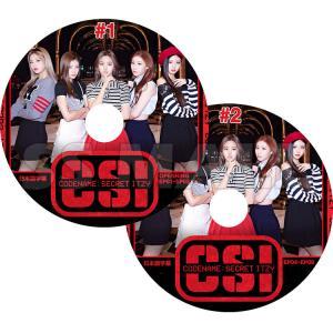 K-POP DVD ITZY CODE NAME ITZY 2枚SET OPENNING+EP01-EP08 日本語字幕あり イッジ KPOP DVD|ssmall