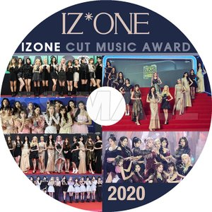 K-POP DVD IZONE 2020 MUSIC AWARD CUT アイズワン KPOP DVD|ssmall
