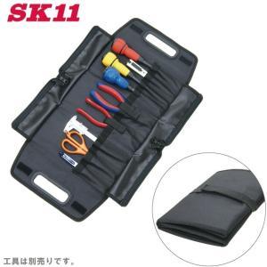 SK11 工具バッグ ツールバッグ ツールケース 3Dロールケース [自転車 バイク]|ssnet