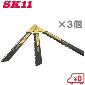 SK11 スイスジクソーブレード T型 FT-111C 3枚 〔電動ノコギリ ジグソー E-Value EJ-400SC用替刃〕 ssnet