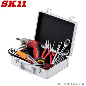 SK11 アルミケース 工具箱 ツールボックス アタッシュケース AT-10S [収納 おしゃれ 工具入れ プロ仕様]|ssnet