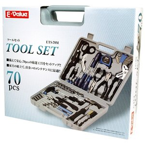 E-Value 工具セット ツールセット ETS-70M ケース付 家庭用|ssnet|04