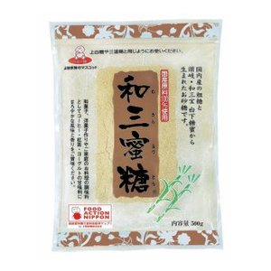 上野砂糖 和三蜜糖 500g 1袋 [砂糖 調味料]|ssnet