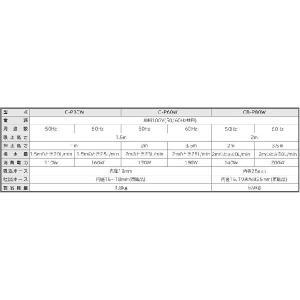 日立 電動ポンプ 循環ポンプ 汚水 〔ハンディーポンプ 小型給水ポンプ 家庭用〕 CB-P80W|ssnet|04