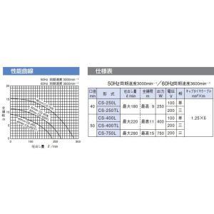 寺田ポンプ ステンレス製 水中ポンプ 低水位排水ポンプ CS-250L/CS-250TL 低水位ポンプ 清水 汚水 ssnet 03