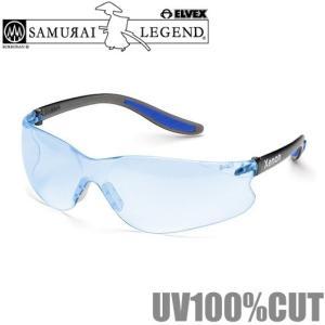 ELVEX 保護メガネ クリアブルー X-6 安全メガネ 屋内外用 作業用保護メガネ スポーツタイプ パソコン 眼鏡 めがね|ssnet
