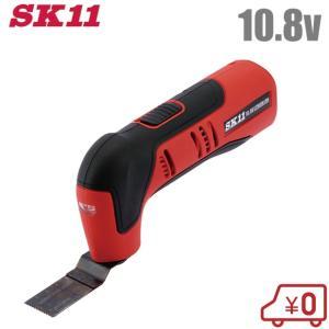 SK11 充電式 マルチツール SMT-108V-15RL  電動 研磨機 電動のこぎり 電動サンダー グラインダー 切断機 コンクリート 剥離|ssnet