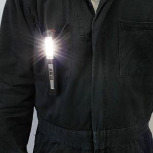 SK11 充電LEDミニスイベルライト SLW-31MSV-LRB 角度調整機能/マグネット付  作業灯 LEDライト ハンドライト 簡易 屋外 照明 LEDランタン キャンプ用品|ssnet|02