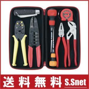 電気工事士技能試験向 工具セット SDK-9TC ツールセット 電気工事士 技能試験セット 実技 1種 2種