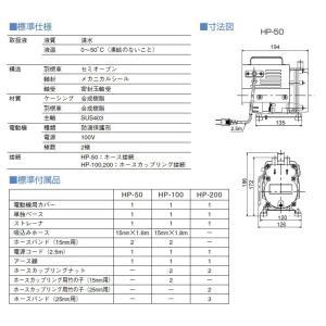 寺田 給水ポンプ ハンディーポンプ HP-200 家庭用 電動ポンプ 農業用ポンプ 循 環 ssnet 02