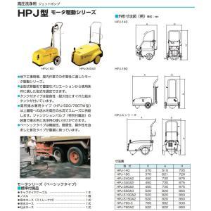 鶴見製作所 業務用 高圧洗浄機 HPJ-160-1 モーター駆動式 [プロ仕様 ツルミポンプ]|ssnet|02