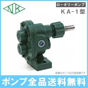 ギヤーポンプ ギアポンプ 亀嶋鉄工所 鋳鉄製ギヤーロータリーポンプ KA-1 口径:1/4 (8A)|ssnet
