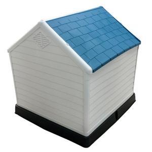 ドッグハウス 犬小屋 大型犬 中型犬 MT-105[プラスチック製 ペットハウス 屋外 室内 日よけ おしゃれ かわいい] ssnet 03