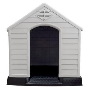 ドッグハウス 犬小屋 大型犬 中型犬 MT-105[プラスチック製 ペットハウス 屋外 室内 日よけ おしゃれ かわいい] ssnet 04