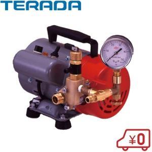 寺田ポンプ 水圧テストポンプ 電動 PP-201T 200W|ssnet
