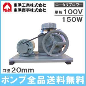 東浜 ロータリーブロワー SD-120 単相100V150Wモーター付き/吐出量120L [トウヒン ブロアー 浄化槽 ブロワー エアーポンプ ポンプ 排水処理槽 エアポンプ] ssnet