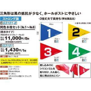 グランドゴルフ ニチヨー NICHIYO 旗 ストロング 8枚セット G3101-SET グラウンドゴルフ sso-jpstore