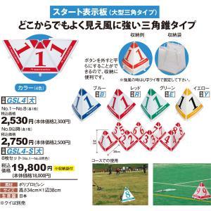 グランドゴルフ 用品 ニチヨー NICHIYO スタート表示板 No.1〜No.8 GSL-3  グラウンドゴルフ 用品