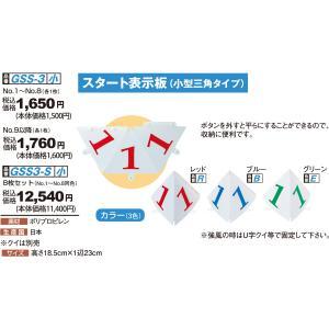 グランドゴルフ ニチヨー NICHIYO スタート表示板 (小型三角タイプ) 8枚セット GSS-3SET グラウンドゴルフ sso-jpstore