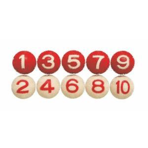 ゲートボール 用品 ニチヨー NICHIYO 室内用ボール 10個セット NM-10|sso-jpstore
