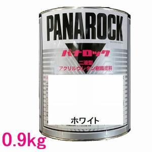 自動車塗料 ロックペイント 088-0204  パナロック ホワイト 主剤 0.9kg|sspaint