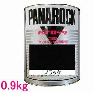 自動車塗料 ロックペイント 088-0234  パナロック ブラック 主剤 0.9kg|sspaint
