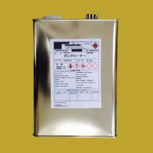 【西濃便】ガンクリーナー(スプレーガン洗浄用シンナー) 4kg|sspaint