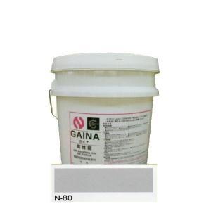 日進産業 断熱塗料 ガイナ(GAINA)色:N-80 14kg(一斗缶サイズ) sspaint